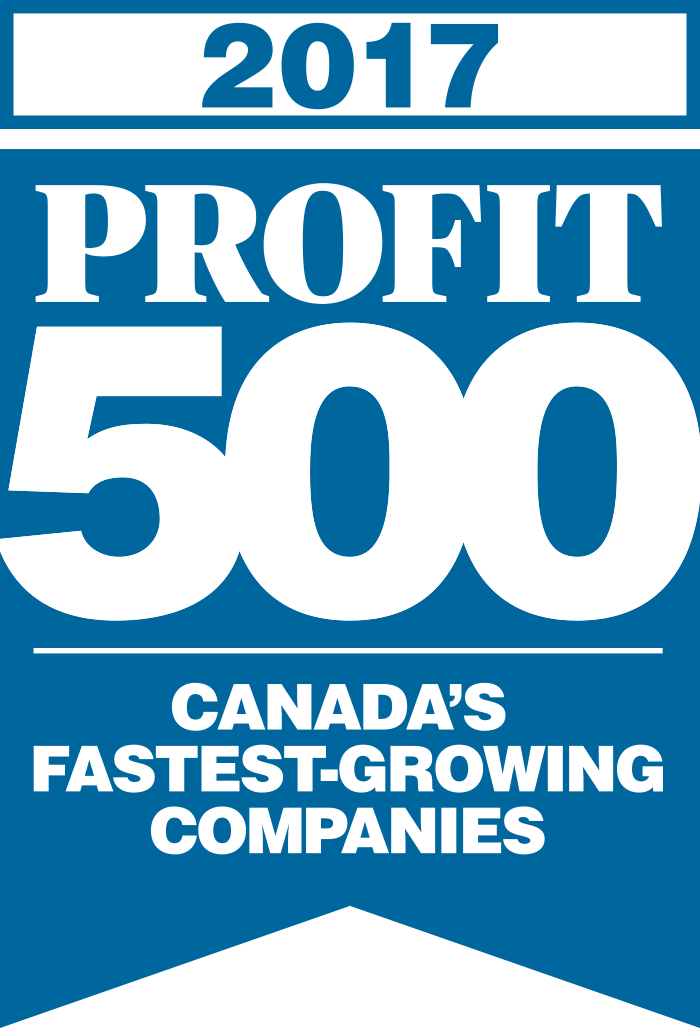 The PROFIT 500 Canada's Fastest-Growing Companies 2017