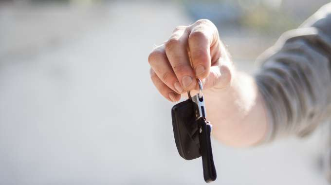 Car Lease Takeover Keys In hands