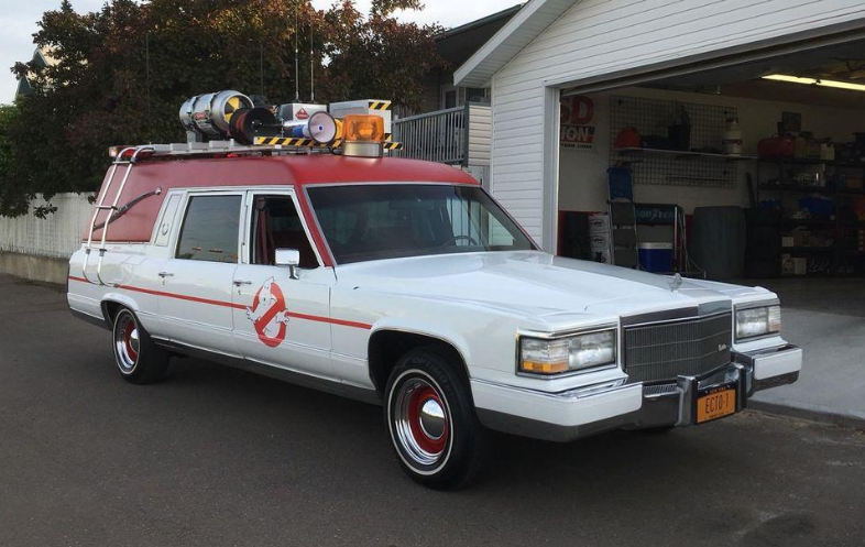 ghostbusters car dress up