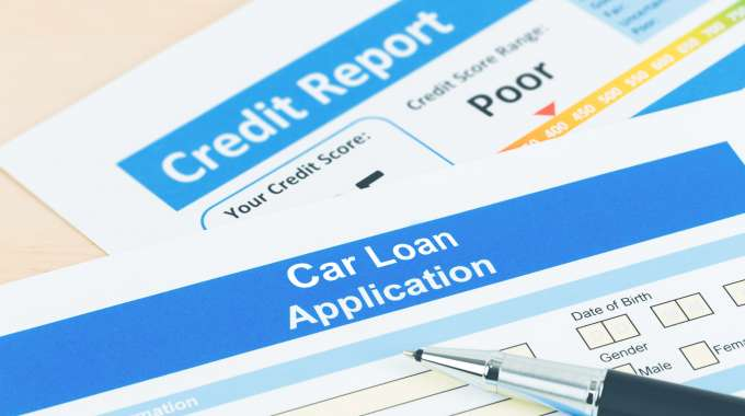 Car Loan Application  & Credit Report