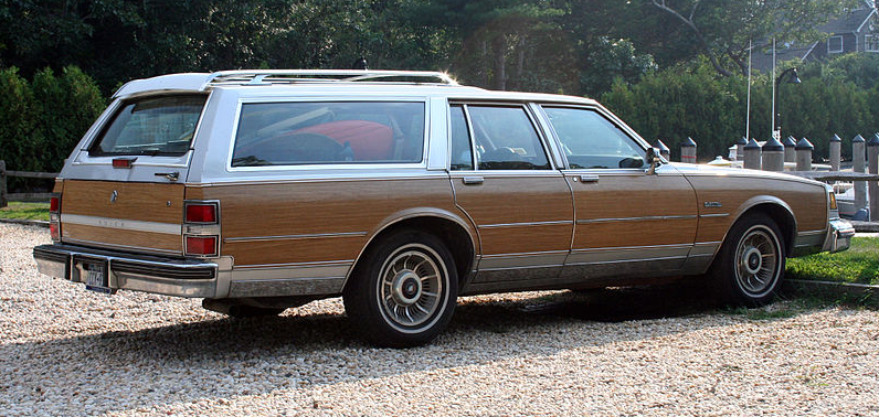 classic Buick Century station wagon