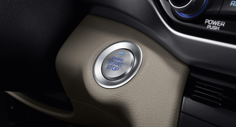 hyundai push start feature