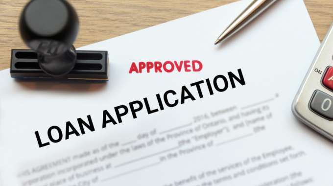 Easy Loan Application Approved Stamp