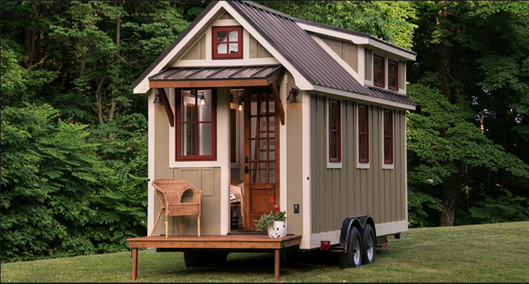 A Tiny home on wheels / Photo Credit: ViewPoint.com