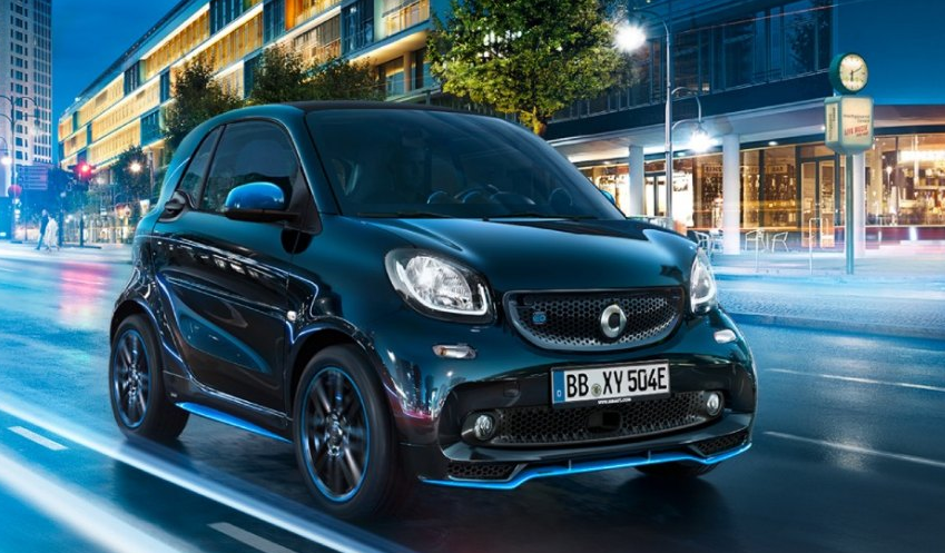 Smart EQ fortwo, an affordable EV in canada