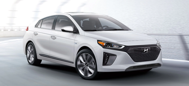 Hyundai IONIQ, one of canada's most affordable EVs