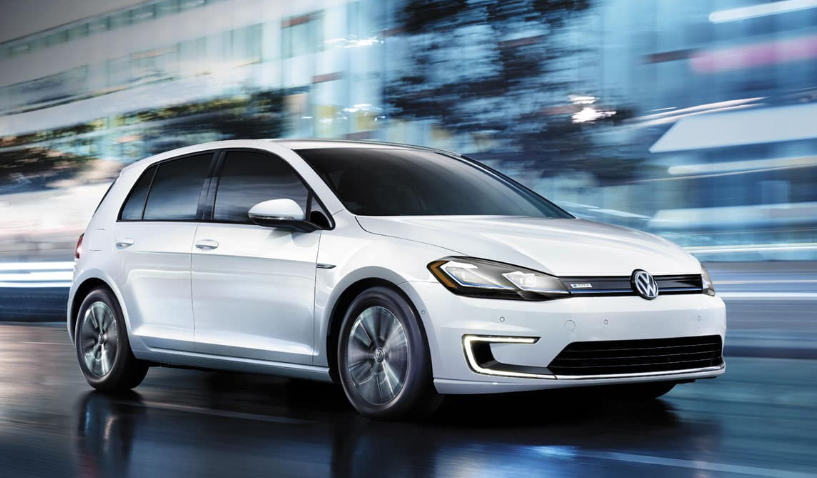 VW E-Golf, an affordable EV