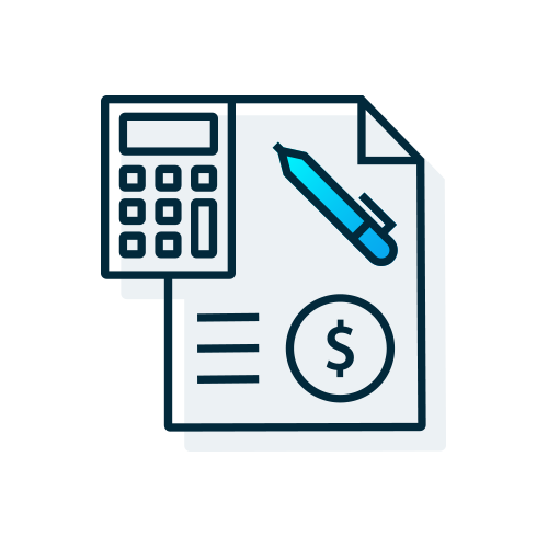 Lease Budget Icon
