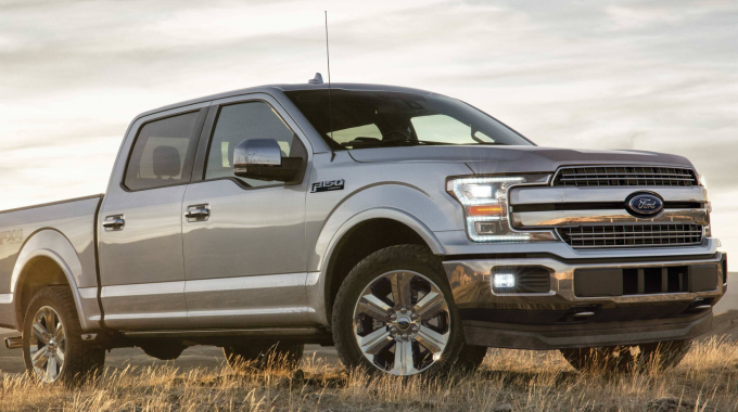 A Ford F-150, part of the seat recall in Canada affecting over 58,000 vehicles