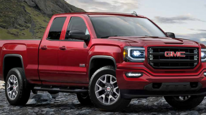 GMC Pick-up truck, among 310,000 vehicles recalled due to braking isses