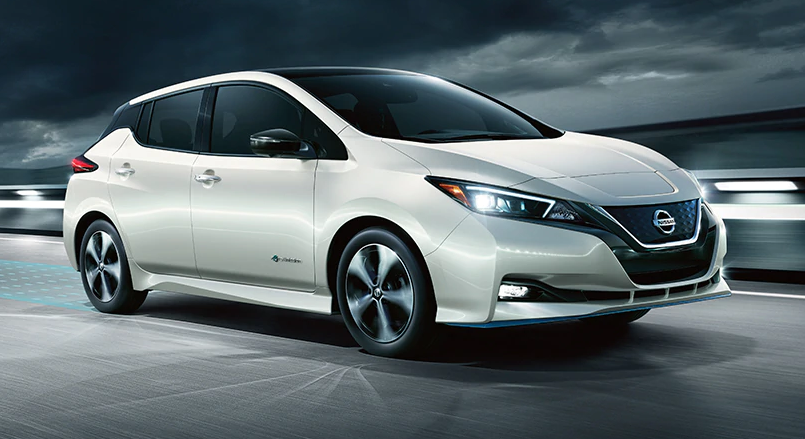 Nissan Leaf, photo credit Nissan.