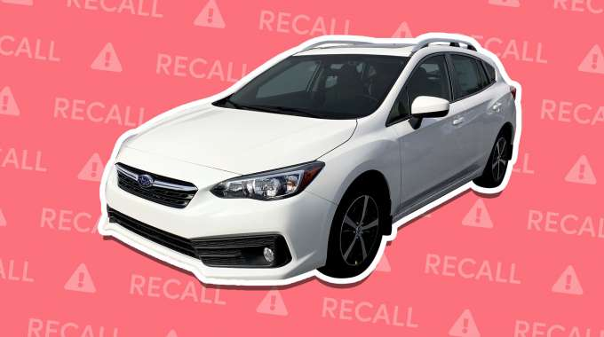 Subaru Impreza Recalled