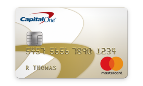 Capital One Low Rate Gold Mastercard