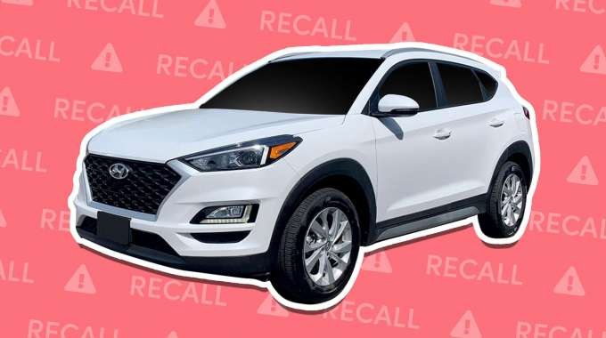 Hyundai Tucson Recalled